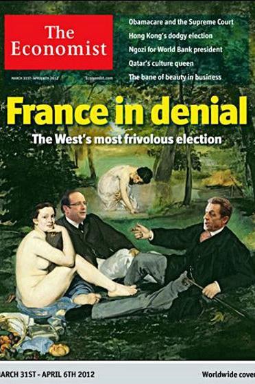 """Capa da edição do """"The Economist"""" de 31 de março de 2012."""